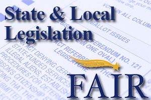 State & Local Legislation from FAIR