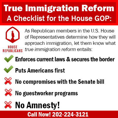 True Immigration Reform Checklist