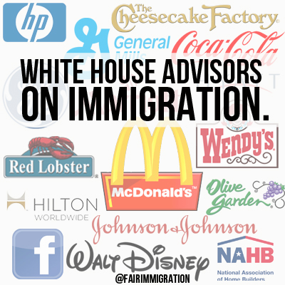 White House Advisors on Immigration
