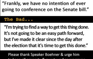 Speaker Boehner Pledges 'No Conference' with Senate Amnesty Bill