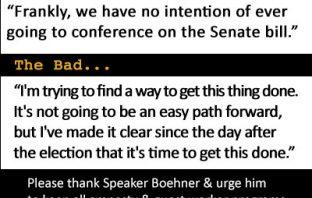 Speaker Boehner Pledges 'No Conference' with Senate Amnesty Bill