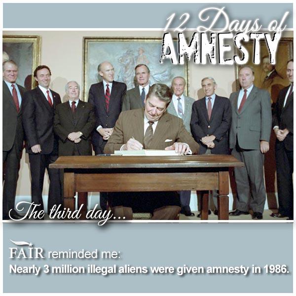 12 Days of Amnesty: Day 3