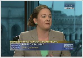 Rebecca Tallent--immigration advisor to Boehner