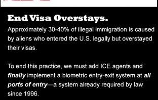 What True Immigration Reform Looks Like: End Visa Overstays
