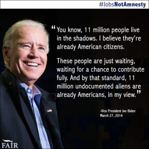 Biden: Illegal Aliens Are Already American Citizens
