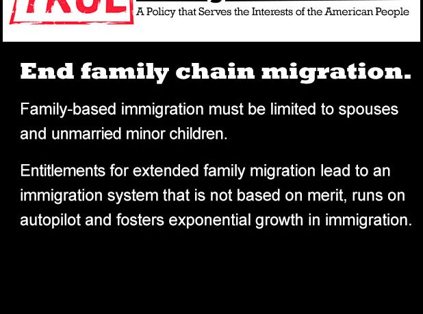 True Immigration Reform: End Chain Migration