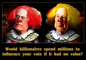 Your vote has value to the Koch Brothers