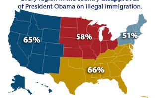 Every region of the country disapproves of Obama on illegal immigration