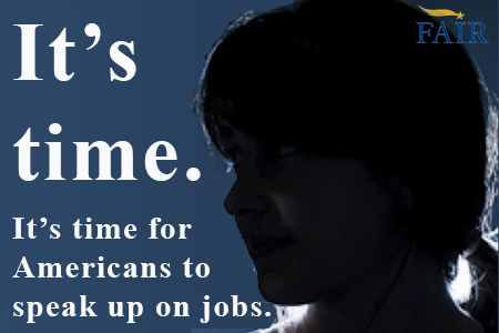 Americans speak up on jobs.