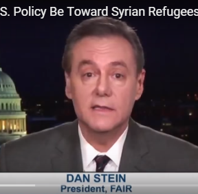 Dan Stein on Syria Refugees