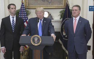 Trump endorses the RAISE Act