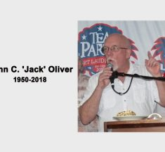"In Memoriam of John ""Jack"" Oliver (1950-2018)"