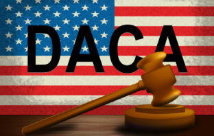 Daca Kids Dreamer Legislation For Us Immigration - 3d Illustration