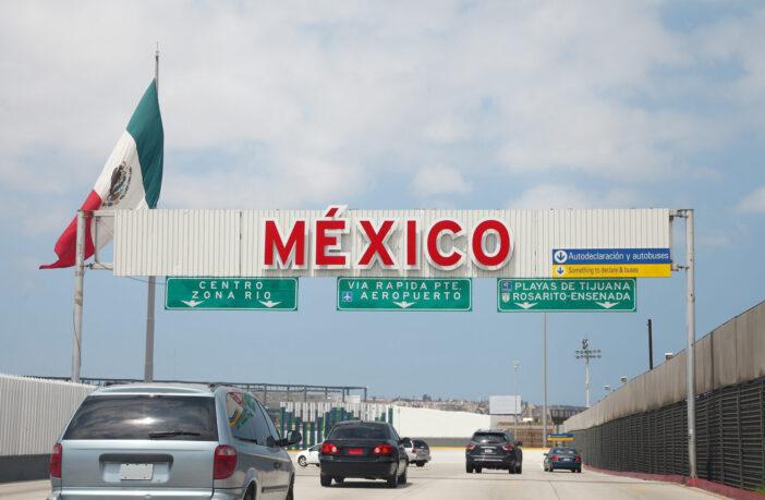 Mexican border, Mexico, border