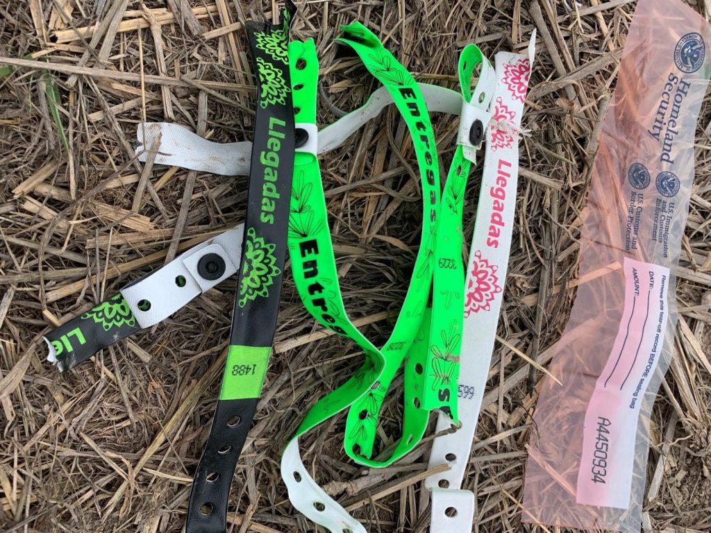 Human trafficker bracelets