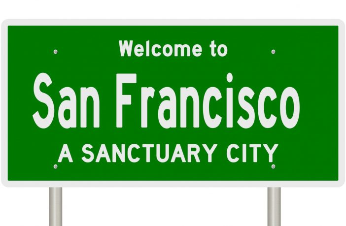 Welcome to San Francisco road sign